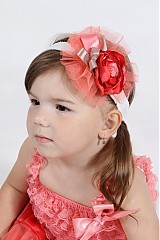 Detské oblečenie - lososová TUTU - 2687496