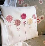 Úžitkový textil - vankúš rozkvitol - 2689647