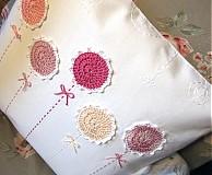 Úžitkový textil - vankúš rozkvitol - 2689648