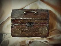 Krabičky - Nežný čokoládkový minikufrík - 2691379
