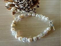 Náramky - náramok z perál - 2691455