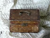 Krabičky - Nežný čokoládkový minikufrík - 2694923