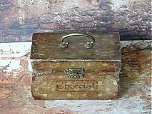 Krabičky - Nežný čokoládkový minikufrík - 2694925