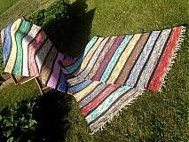 Úžitkový textil - Koberec pásikavý 262x74cm - 2696011