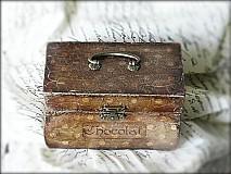 Krabičky - Nežný čokoládkový minikufrík - 2697361