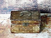 Krabičky - Nežný čokoládkový minikufrík - 2697364