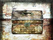 Krabičky - Nežný čokoládkový minikufrík - 2697392