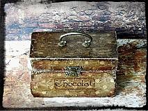 Krabičky - Nežný čokoládkový minikufrík - 2697393