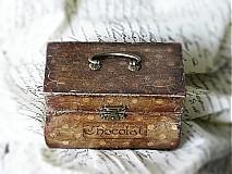 Krabičky - Nežný čokoládkový minikufrík - 2697403