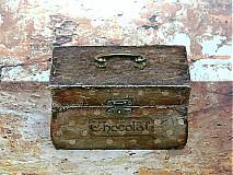 Krabičky - Nežný čokoládkový minikufrík - 2697407