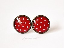 - Happy Dots - bodkované napichovacie náušničky - 2699108