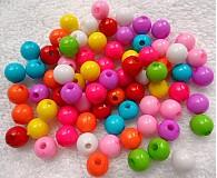 - COLOR plast 7mm-MIX-100ks - 2700147