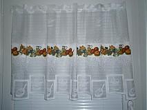 Úžitkový textil - Kuchynská záclona - 2701885