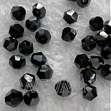 - Skl.bicone 4mm-čier.hematit-1ks - 2702187