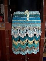 Sukne - Pletená sukně či top - 2706585