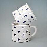 - Kafáč 8 cm 4puntík - bílý, cca 0,3 l - 2721692