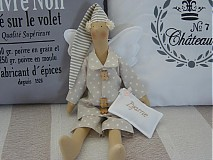 Bábiky - Hnedý anjel - 2731633