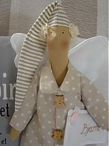 Bábiky - Hnedý anjel - 2731645