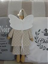Bábiky - Hnedý anjel - 2731646