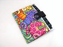 Peňaženky - Veselé Mňáááááu - vizitkář na 20 vizitek - 2745096