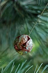 Náhrdelníky - papraďová guľôčka - 2746433
