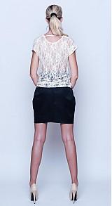 Sukne - Tulipánová sukńa s koženkovým pásom rôzne farby - 2747043