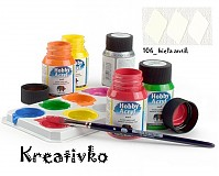 - Akrylové farby Nerchau (matné) 59 ml - 106_biela antik - 2750209