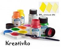 - Akrylové farby (matné) 59 ml - 205_citrónová žltá - 2750253