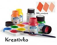 - Akrylové farby (matné) 59 ml - 304_oranžová - 2750285