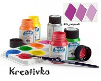 - Akrylové farby (matné) 59 ml - 316_magenta - 2750396