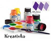 - Akrylové farby (matné) 59 ml - 405_fialová - 2751349