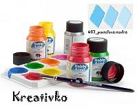 - Akrylové farby (matné) 59 ml - 407_pastelová modrá - 2751354