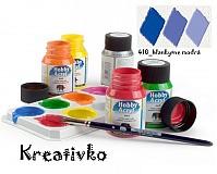- Akrylové farby (matné) 59 ml - 410_blankytne modrá - 2751377