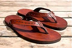 Obuv - Kožené sandále Jenny - 2751714