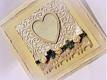 Papiernictvo - Srdce stvorené pre lásku... - 2753079