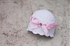 Detské čiapky - čiapočka s mašlou - 2758067