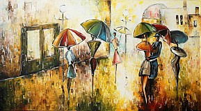 Obrazy - Denný dážď - 2761566