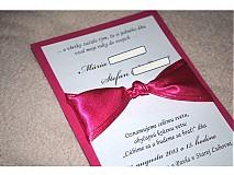 - Svadobné oznámenie 050 - 2765491