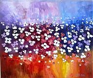 Obrazy - Záplava kvetov (oranžový) - 2765601