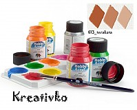 - Akrylové farby (matné) 59 ml - 613_terakota - 2771906