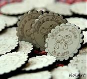 Darčeky pre svadobčanov - Svadobné magnetky - 2771968