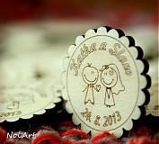- Svadobné magnetky - 2772004