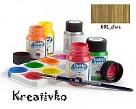 - Akrylové farby (matné) 59 ml - 802_zlatá - 2772007