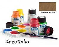 - Akrylové farby (matné) 59 ml - 708_bronzovo zlatá - 2772796