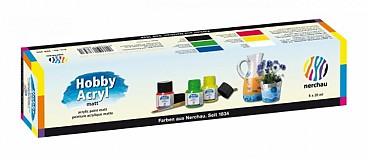 - Akrylové farby (matné) 6 x 20 ml - štartovacia sada - 2772850