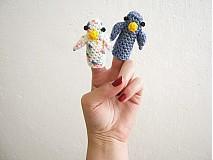 - 2 prstové bábky - vtáčikovia - 2775904