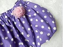 Detské oblečenie - ***Puntíkatá do balónku*** - 2779849