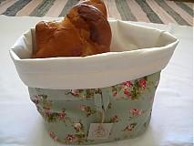 Úžitkový textil - Vintage....košík na pečivo - 2782835