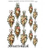 - Ryžový papier - R 0086  Vianočná dekorácia - 2784299
