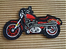 Nažehlovačka / aplikácia motorka